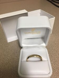 Mens wedding band size 14 and 14k gold