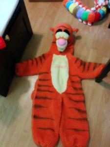 Childs size 4 tigger costume
