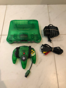 RARE Funtastic Jungle Green N64 System with Matching Controller