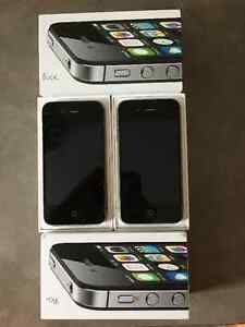 TWO 8GB iPHONE 4S's - EXCELLENT CONDITION