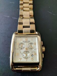 147d90ac7ee7 Michael Kors Women s Chronograph Gold-Tone Watch