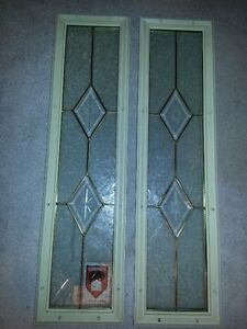 Front entrance door windows