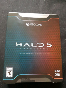 limited edition Halo 5 game