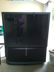 old style big screen tv for Free