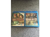Blue ray pirates of Caribbean