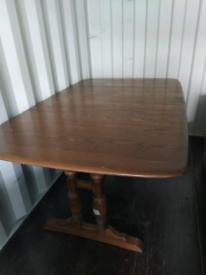 Table (dark ercol) free delivery.