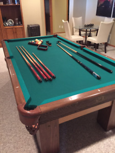 4x8 Special Anniversary Canada Billards & Bowling  Pool Table
