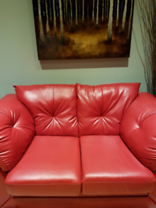 Love Seat and Arm Chair