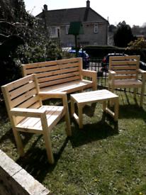Garden furniture .set