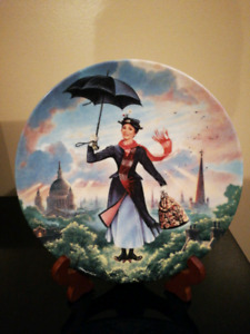 Mary Poppins Collectable Plate