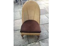 Lloyd Loom Chair - CAN DELIVER