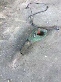 Reciprocating saw.