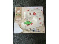 Brand new lightweight sewing machine