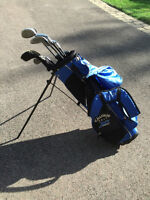 kids golf clubs with bag