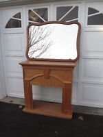 French Provincial Knechtel Solid Wood Mirror