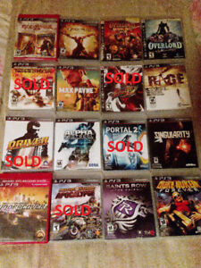 PS3 Games For Sale - Free Controller w/ Bulk(49) Purchase