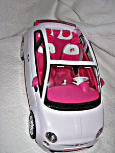 BARBIE ~ PINK & WHITE CAR Kitchener / Waterloo Kitchener Area image 1
