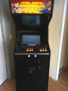 621-1 stand up arcade game golden axe