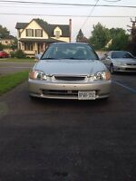1998 Honda Civic Si Safetied and E-Tested $2500 Today!!