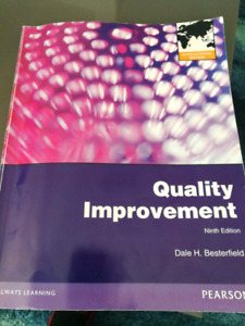 Quality Improvement Ninth Edition Dale H. Besterfield