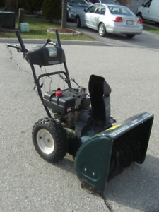 "DEAL OF THE DAY 26"" YARD MTD 8 HP SNOWBLOWER THAT WORKS $275.00!"