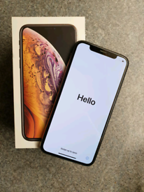 Apple iPhone XS 64 GB Gold Mint Condition All Networks