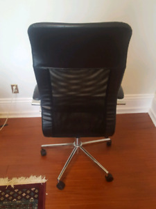 Leather office chair perfect condition