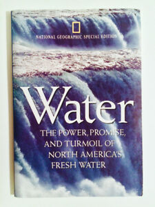 1993 NATIONAL GEOGRAPHIC SPECIAL EDITION WATER W/ U.S. WALL MAP