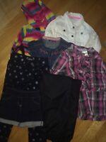 Girl's Clothes Size 6 - Linge pour fille Grandeur 6