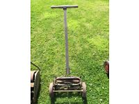 Very old push lawn mover