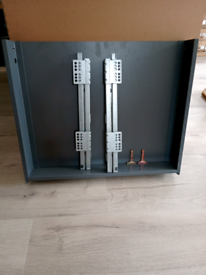 600 (60cm) kitchen cabinet drawer with soft close runners .