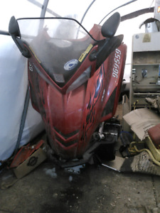 2006 yamaha rage snowmobile parts