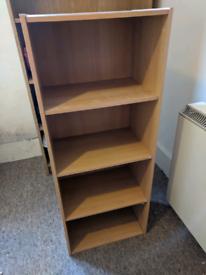 Wooden Storage Unit / Bookshelf