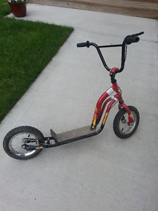 "Next Scooter with 12"" bike wheels"