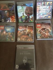 PS3 with games. 350 OBO