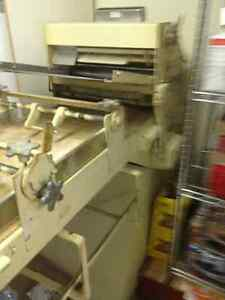COMMERCIAL HEAVY DUTY DOUBLE PASS THROUGH ROLLER SHEETER 115V