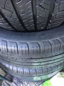 Four Michelin Primacy (P245 50 R20) tires for sale...