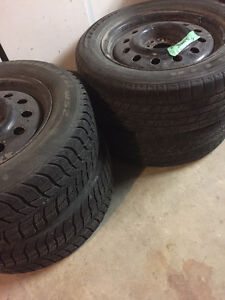Winter Tires and universal Rims for sale