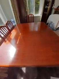 Edwardian table with winder