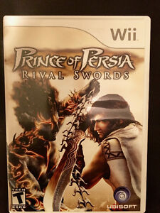 Wii Prince of Persia Rival Swords and Tomb Raider Underworld Edmonton Edmonton Area image 2
