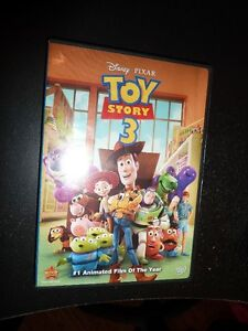 Cars, (Toy Story 3-SOLD) DVD and Madagascar 3 Blu-Ray