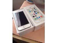iPhone 5s 16gb-3 network -3 month Apple warranty