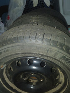 Michelin x ice 3 tires and rims