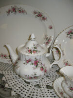 Lavender Rose China -- FROM PAST TIMES Antiques - 1178 Albert St