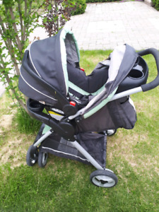 Graco matching car seat/stroller combo