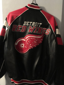 Detroit Red Wings Leather Jacket