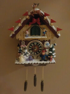 """RUDOLPH THE RED-NOSED REINDEER"" CUCKOO CLOCK"