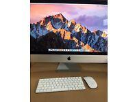 "iMac 2015 A1419 27"" Retina 5K Core i5 3.2GHz 8GB RAM 1TB HDD. Apple Warranty"