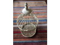 Decorative bird cage, wedding decoration, can put fairy lights inside