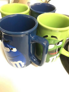 Brand New M&M Mugs